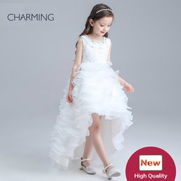 buy gowns Canada - high low dresses for kids clothes designer girls dresses for special occasions buy bulk wholesale little girls dressy dresses