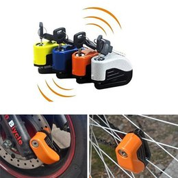 Wholesale Mountain Bike Lock Car Alarm System Lock Anti theft Alarm Lock for Electric Vehicle and Motorcycle Parts Brake Theft Protection