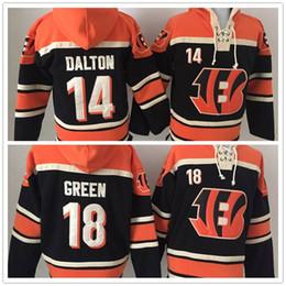 3be6d52b787 online shopping Stitched Bengalz Hoody DALTON GREEN Black Hockey Men Hoodie  Jerseys Ice Jersey Mix Order