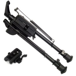 Chinese  9-13 inch Tactical Harris bipod notched legs and swivel base pivoting bi-pod with Pod-Lock lever Adjustable Precision Bipod QD Mount manufacturers