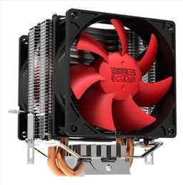 China Wholesale- CPU cooler,dual-fan, 2 heatpipe, tower side-blown, for Intel LGA 775 1155 1156, for AMD 754 939 AM2 AM2+ AM3 FM1,CPU radiator, supplier amd am3 cpu fan suppliers