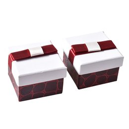 Chinese  Argositment 40pcs European classical ring box earrings jewelry storage box gift box manufacturers