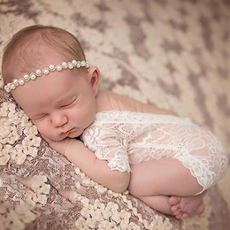 baby girl lace bodysuits NZ - Newborn Lace Romper Baby Girls Sleeveless Lace Floral Rompers Fashion One Piece Summer Jumpsuit Soft Lace Bodysuits