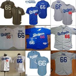 a60d10148 discount code for 66 yasiel puig jersey mens los angeles dodgers cool base  team color blue