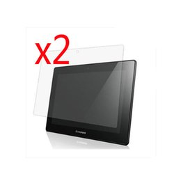 """Ipad Screen Matte NZ - Wholesale- 2PCS Matted Matte Screen Protector Films Anti-Glare Protective Film Guards For Lenovo Ideatab S6000 10.1"""" 10.1 inch Tablet"""