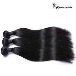 $enCountryForm.capitalKeyWord Canada - Romantic! 8A Virgin Brazilian Hair Straight Brazilian Bundles Natural Color Human Hair Extensions 8-28 inch Best Quality extensions bundles