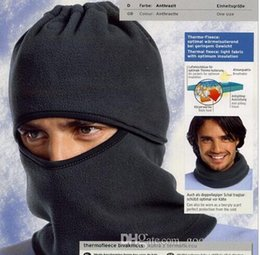 afe0a2a8cb0 Men winter outdoor wind cold face cover protection fleece mask headgear  weather cap hat warmer CS scarf