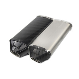 $enCountryForm.capitalKeyWord Australia - 2017 New Wide Type Motorcycle Exhaust Carbon Fiber Modified Pipe Scooter For HONDA CBR600 CBR1000 F5