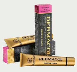 Types Tatoo Pas Cher-Dermacol Base Maquillage DERMACOL Maquillage Couverture Extrême Couvrant Fondation Hypoallergénique Imperméable 30g Dermacol Tatoo brandd Skin Correcteur