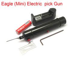 $enCountryForm.capitalKeyWord Australia - 2017 New Eagle(Mini) Electric Pick Gun Self Clamping Screw Needle Precisely Adjustable Force Size Small Volume Low Weight Locksmith Tools