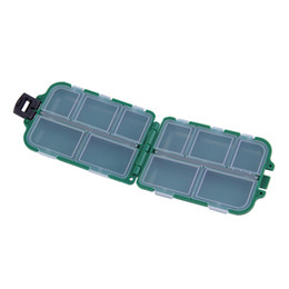 Fishing Lure Store Canada - Hot Fishing Tackle Boxes Fishing Accessories Case Fish Lure Bait Hooks Tackle Tool for Storing Swivels, Hooks, Lures
