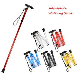 Walking Stick Wandern Walking Trekking Trail Ultraleicht 4-teilig Verstellbare Stöcke Aluminiumlegierung Klappstock Walking Sticks