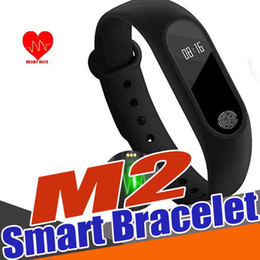 smartband iphone 2019 - New Arrival M2 Smart Wristbands Band Smart Bracelet Bluetooth 4.0 Sports Smartband with Sleep Monitor For iPhone Xiaomi