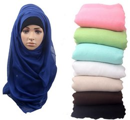 Jersey cotton scarf online shopping - JERSEY Scarf Jersey Shawl Cotton Muslim Hijab Cotton Hijab Cap Islamic Head Wear Hat Underscarf Colors Available