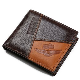 China Wholesale- GUBINTU Genuine Leather Men Wallet Brand Designer Male Purse With Zipper Coin Pocket Best Gift carteira masculina--BID086 PM49 cheap best brand leather purses suppliers