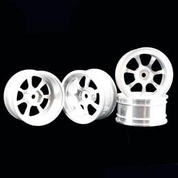 Electric Road Cars UK - RC Aluminum Wheel 4pc D:52mm W:26mm Fit HSP HPI 1:10 On-Road Drift Car Rim 107S