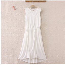 $enCountryForm.capitalKeyWord Canada - Summer Causal Purity Women Elegant Cotton Colourful Sleeveless Hollow-out Panelled Mid-Calf Midi-Dresses White Black Blue 170425-01