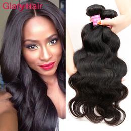Discount human hair weft extensions uk - Wholesale Peruvian Human Hairs Body Wave Hair Weaves Peruvian Virgin Hair Bundle Deals 100g Piece Unprocessed Human Hair