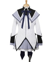 Chinese  Kukucos Anime Puella Magi Madoka Magica Homura Akemi Cosplay Costume Nice Dress For Student Halloween Party Suit manufacturers