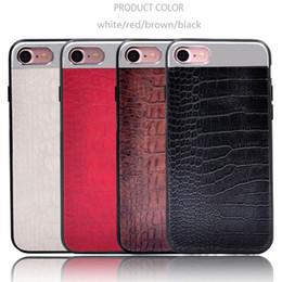 $enCountryForm.capitalKeyWord NZ - Luxury Crocodile Pattern Pu Leather with Metal splice case for iPhone 6 6s Plus 7 7Plus