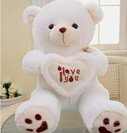 $enCountryForm.capitalKeyWord Canada - 2017 hot sale Beige Giant Big Plush Teddy Bear Soft Gift for Valentine Day Birthday