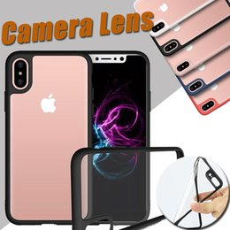 $enCountryForm.capitalKeyWord UK - Unicorn Beetle Hybrid Soft TPU Silicone Transparent Cover Case For iPhone XS Max XR X 7 6 6S Plus 5 5S Samsung Galaxy Note 8 S8 Camera Lens