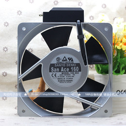 high temperature bearings NZ - Sanyo 33W 109-602 200V 0.18A 16CM 16050 160 * 160 * 50mm High temperature AC fan with sensor
