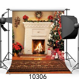 Background Paintings NZ - Christmas 5X7ft camera fotografica backdrops vinyl cloth photography backgrounds wedding children baby backdrop for photo studio 10306