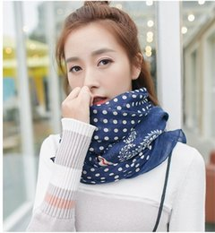 Foreign Scarves Canada - Uacy 2016 New South Korean foreign trade cotton explosion dot Scarf silk Scarf shawl female thin towel