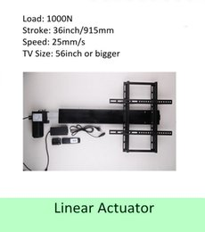 $enCountryForm.capitalKeyWord Canada - free shipping 36inch stroke 50''-60'' TV usage wireless tv lift linear actuator can used for cabinet and bed