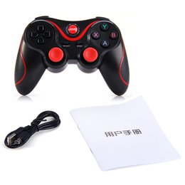 Wireless Usb Game Controller Pc NZ - New T3 Smart Phone Game Controller Wireless Joystick Bluetooth 3.0 Android Gamepad Gaming Remote Control for phone PC Tablet