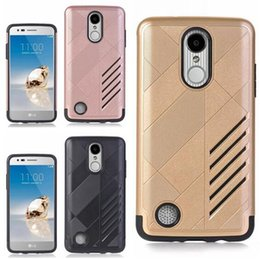 Discount cell phone case for zte - Fashion Hybrid TPU PC Hard Case For Samsung Galaxy 2017 A3 A5 A7 J3 Emerge J7 ZTE V6 Plus LG Stylo 3 Stylus Armor Camo C