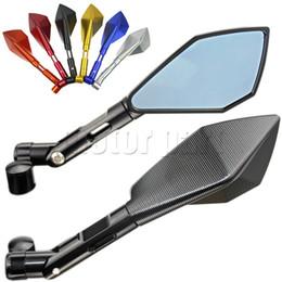 Espelhos retrovisores para yamaha mt-07 mt-09 mt 09 09 fz-07 fz6 fz6 fz8 espelho de alumínio cnc motocicleta scooter acessórios venda por atacado