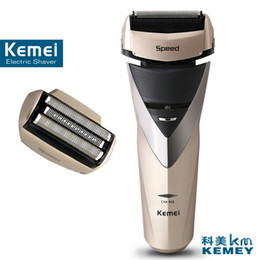 $enCountryForm.capitalKeyWord Canada - Kemei factory direct beauty body wash twin blade cutter head men face care Shaver razor electric rechargeable shaveing for man