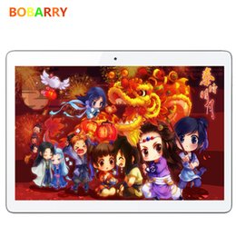 Tablet 4g Sim Canada - Wholesale- BOBARRY Tablet 9.6 Inch Android 5.1 Tablet PC 4G Phone Call Octa Core MTK6592 4GB 64G GPS Bluetooth Dual SIM android tablet
