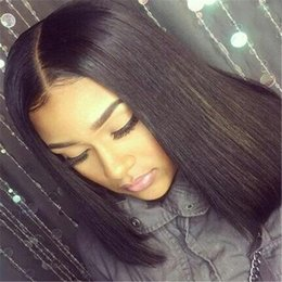 $enCountryForm.capitalKeyWord Canada - High Ponytail Full Lace Wigs Glueless Silky Straight Virgin Brazilian Lace Front Wig Full Lace Human Hair Wigs With Baby Hair