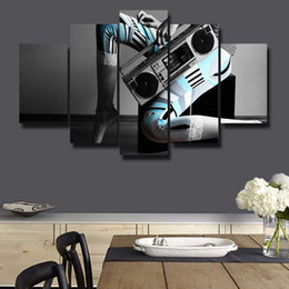 Beautiful Homes Paint Pictures NZ - Framed 5 Panels Canvas Print Painting Modern Canvas Wall Art for Wall Pcture Home Decor Artwork Beautiful picture#068