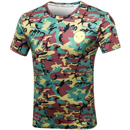 $enCountryForm.capitalKeyWord Canada - Balloon camo T shirt Camouflage scrawl short sleeve gown Leisure tees Nice printing clothing Unisex cotton Tshirt
