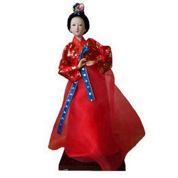Folk Art Christmas UK - 30cm south Korean doll for home decoration Doll ornaments Christmas present