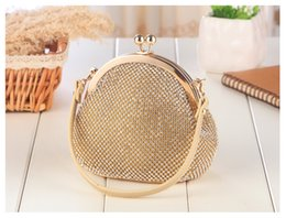 gold wedding hand bags Australia - Luxury Bridal Hand Bags Gold,Silver,Gray New Arrival Clutches 2017 Eye Catching Wedding Accessories Bridal Handbags