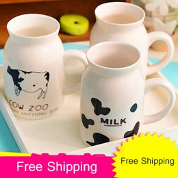 $enCountryForm.capitalKeyWord Canada - Wholesale- 250ML 450ML New Cute Ceramics Milk Cup The Creative Breakfast Cup Fashion Children Cup Coffee Mug Free Shipping 4 Styles