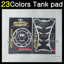 Honda Cbr Cap Australia - 23Colors 3D Carbon Fiber Gas Tank Pad Protector For HONDA CBR600F4i 01 02 03 01-03 CBR600 F4i CBR 600 F4i 2001 2002 2003 3D Tank Cap Sticker