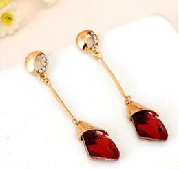 $enCountryForm.capitalKeyWord Canada - 2017 spring and summer Korean explosion models Earrings Sidou crystal earrings earrings star with a long paragraph