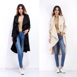 Wholesale Women s Clothing fashion blouse Outerwear long cardigan coats Trench Coats jackets women Cape clothes ladies tops casual coat dresses