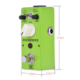 $enCountryForm.capitalKeyWord Canada - AROMA AGR-5 Classic Tube-like Overdrive Guitar Effect Pedal 2 Modes Aluminum Alloy Body True Bypass Guitar distortion pedal