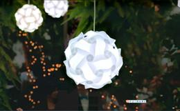 $enCountryForm.capitalKeyWord NZ - Wedding Decoration Pendant Lights DIY Modern Ball Novelty IQ Jigsaw Lamp Puzzles Pendant Light give LED lampshades Decorations