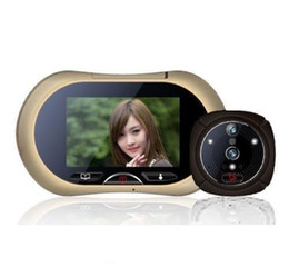 "Chinese  3.7"" Touch LCD Digital Peephole Video Viewer IR Night Vision Camera Doorbell manufacturers"