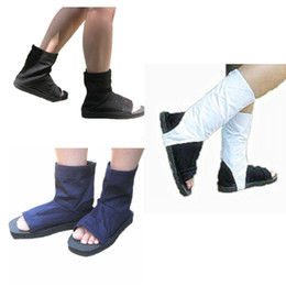 Wholesale shoes carnival for sale - Group buy Naruto Akatsuki cosplay shoes Japanese anime Naruto shoes Halloween Masquerade Mardi Gras Carnival cosplay accessories three styles