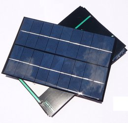 Discount solar panels home system High Quality! 4.2W 9V Mini Solar Cell Module Polycrystalline Solar Panel DIY Charger System Education Ktis 200*130*3MM F