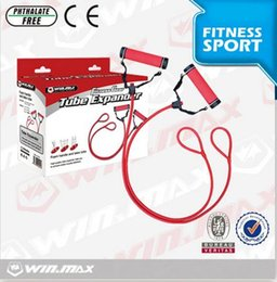 $enCountryForm.capitalKeyWord Australia - Winmax Weight Tube Expander Comprehensive Fitness Exercise Pedal Exerciser Convenient Foam Handle Integrated Fitness Equip